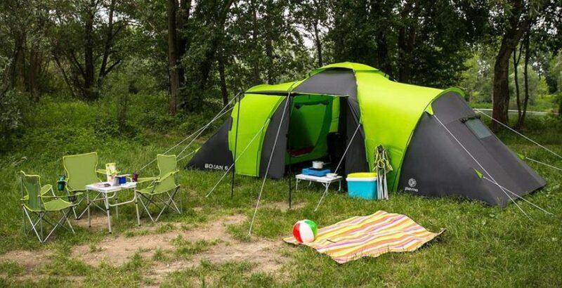 Вместительность палатки