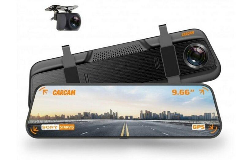 CARCAM Z8, 2 камеры, GPS, ГЛОНАСС
