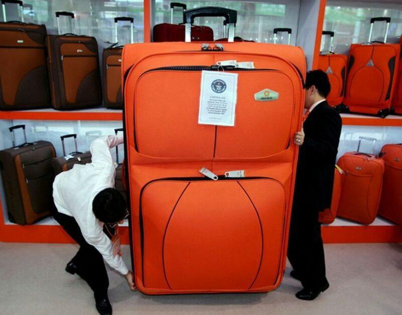 Размер чемодана