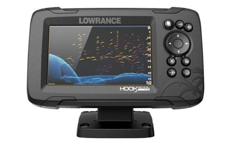 Lowrance Hook Reveal 5 83/200 HDI ROW