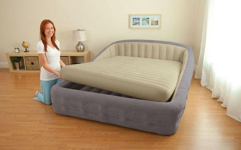 Можно ли спать на надувном матрасе постоянно