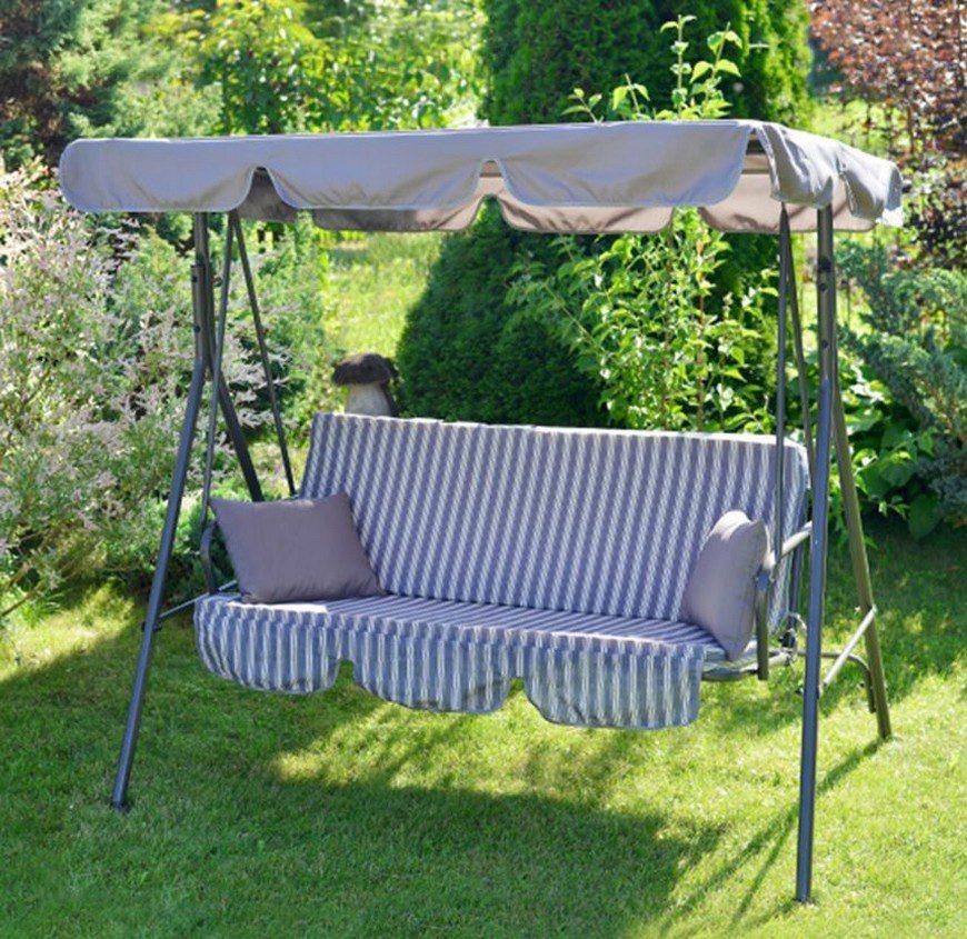 Какие выбрать хорошие и надежные садовые качели