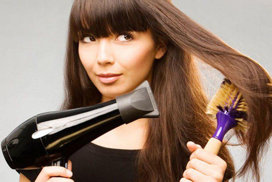 Почему нельзя держать фен близко к волосам