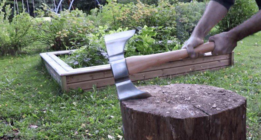 Чем можно колоть дрова