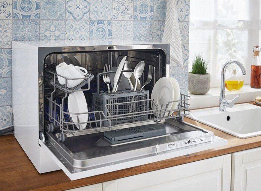 Преимущества и недостатки компактных посудомоек
