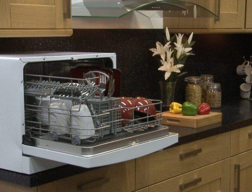 Как выбрать настольную мини-посудомойку