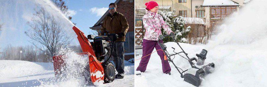 особенности бензиновых снегоуборщиков