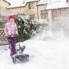лучший электрический снегоуборщик