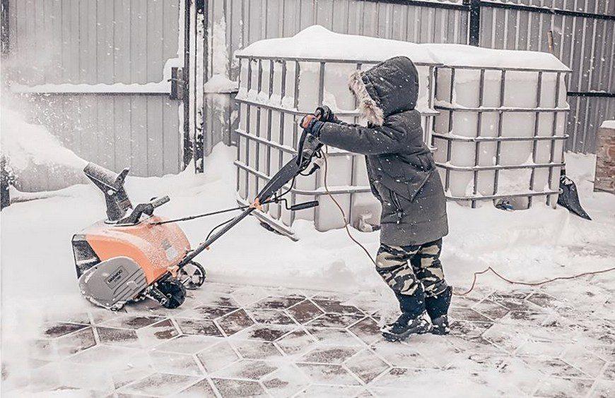 характеристики электрических снегоуборщиков