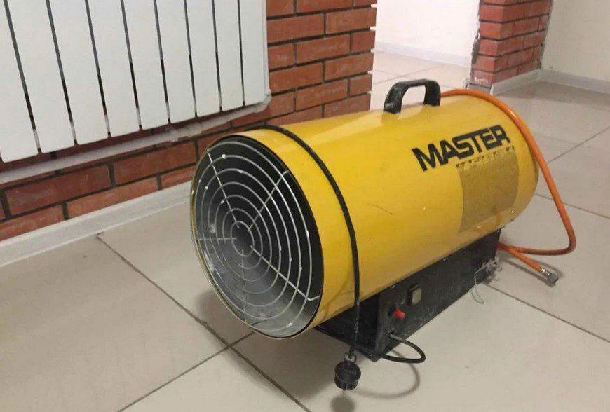 Назначение газовых тепловых пушек