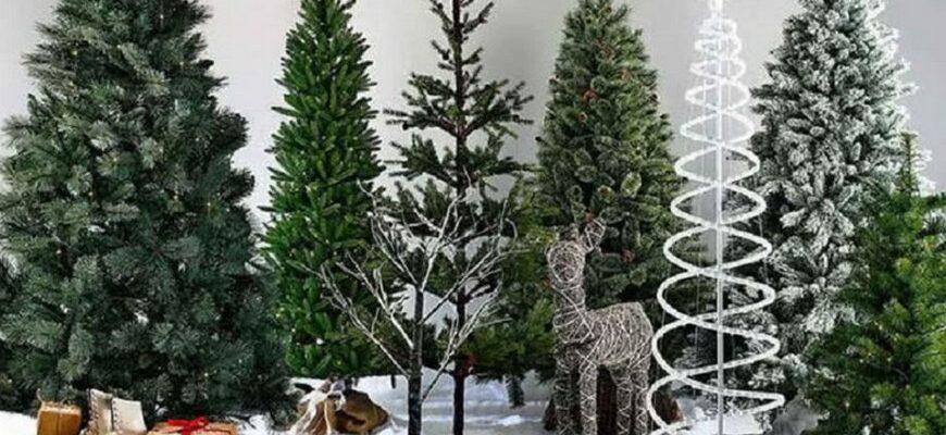 елка искусственная новогодняя