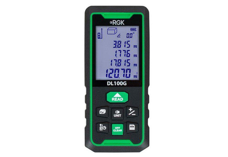 RGK DL100G зеленый луч 100 м