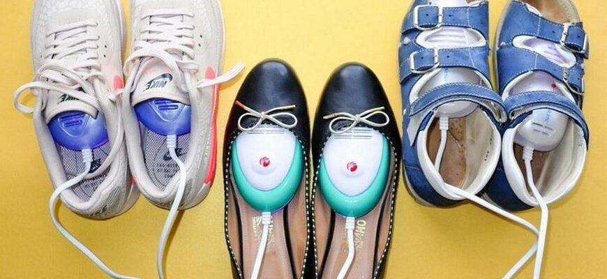 сушилка электрическая для обуви