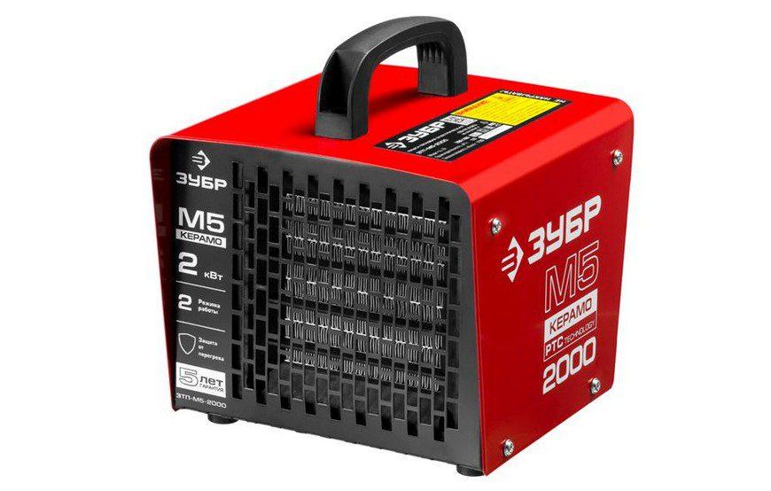 ЗУБР ЗТП-М5-2000 без горелки (2 кВт)
