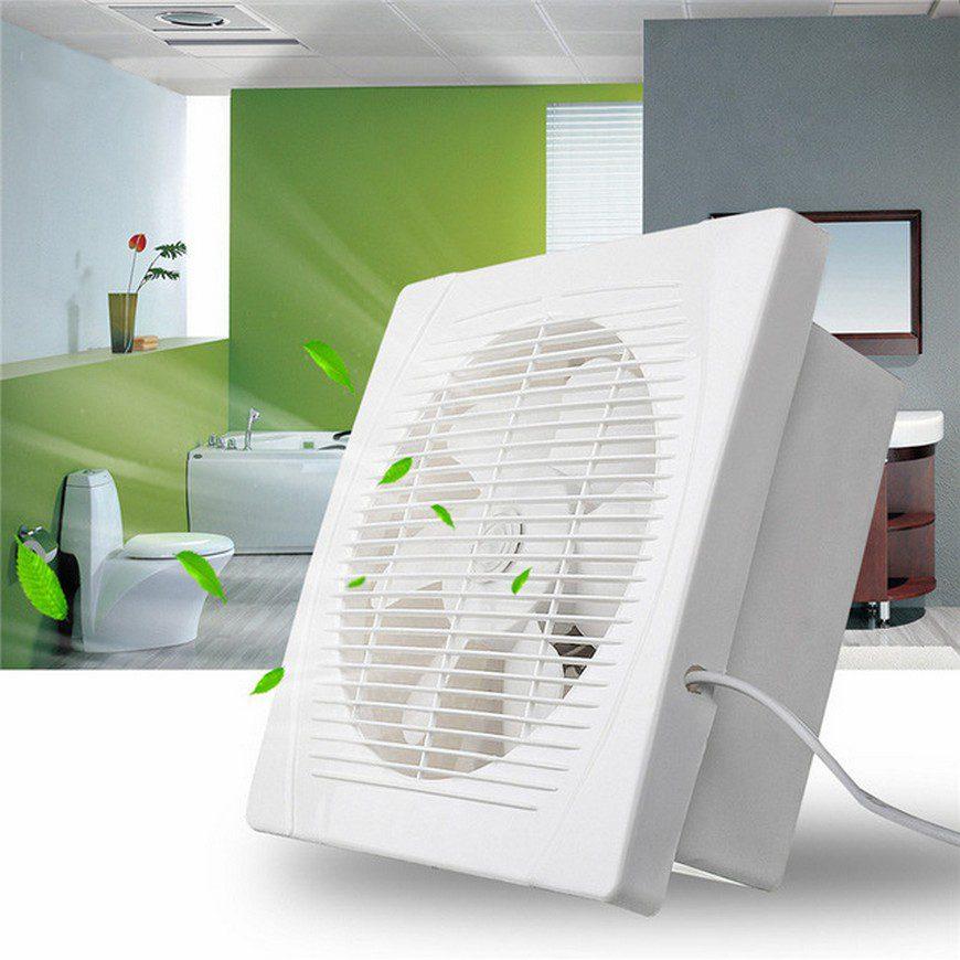 Типы вентиляторов для ванной