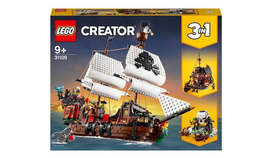 LEGO Creator 31109 Пиратский корабль