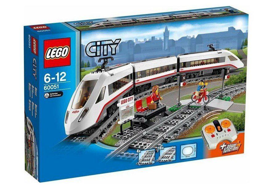 LEGO City 60051 Скоростной пассажирский поезд